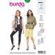 Patron Burda Style 6337 Veste pour femmes de 36 à 46
