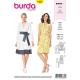 Patron Burda Style 6338 Robe Portefeuille pour Femmes du 36 au 46