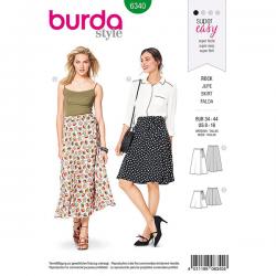 Patron Burda Style 6340 Jupe pour Femmes de 36 à 46