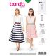 Patron Burda Style 6342 Jupe pour Femmes de 36 à 46