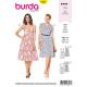 Patron Burda Style 6343 Robe pour Femmes de 36 à 46
