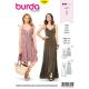 Patron Burda Style 6344 Robe pour Femmes de 36 à 46