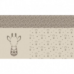 Coupon Jacquard Girafe
