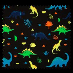 Tissu Jersey Dinosaures Neon