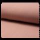 Tissu Double Gaze Uni Vieux Rose Poudre