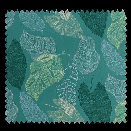 Tissu Brahea Cretonne Vert