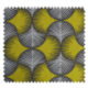 Tissu Bona Taupe/moutarde