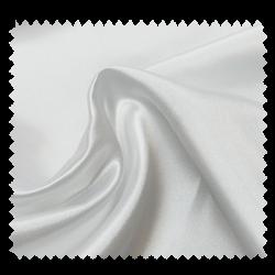Tissu Satin Uni Blanc