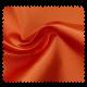 Tissu Satin Uni Orange
