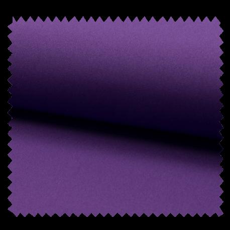 Tissu Bi Strech Uni Violet