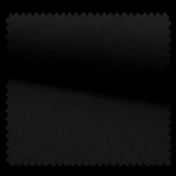 Tissu Ibiza Uni Noir