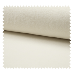Tissu Coton Fleece Naturel