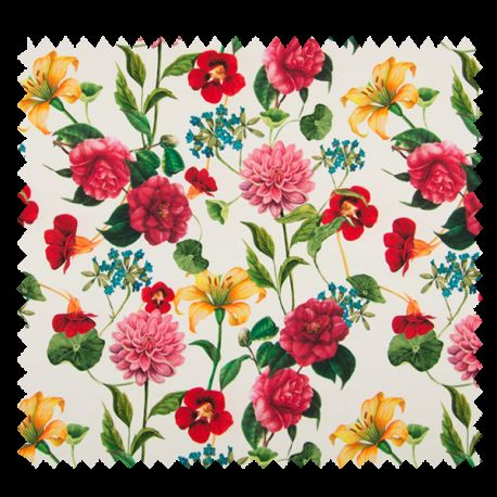 Tissu Digital Flowers