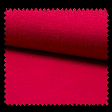 Tissu Ibiza Uni Framboise