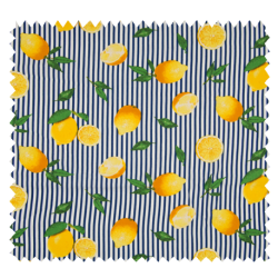 Tissu Viscose Imprime Citron de Menton