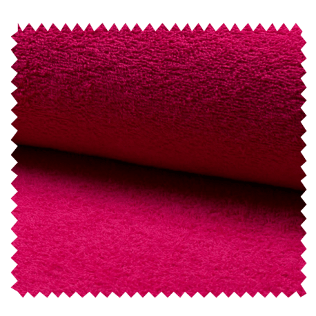 Tissu Eponge Uni Fuchsia