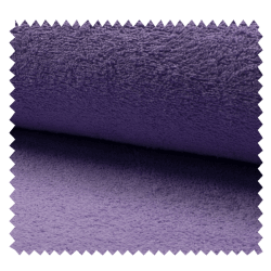 Tissu Eponge Uni Raisin
