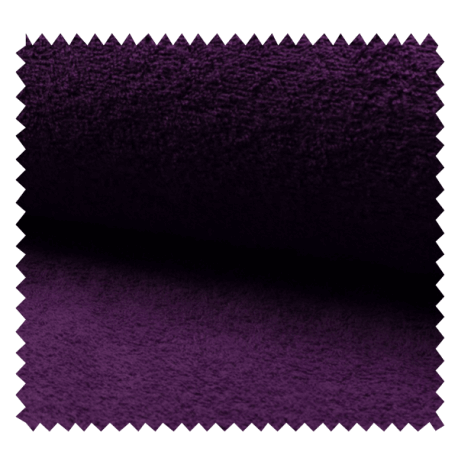 Tissu Eponge Uni Myrtille