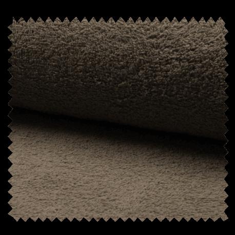 Tissu Eponge Uni Taupe