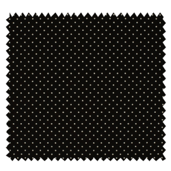 Tissu Imprimé Epingle Pois Noir