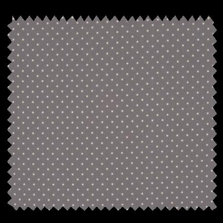 Tissu Imprimé Epingle Pois Perle