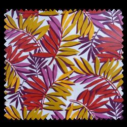 Tissu Toile Cirée Curacao Rouge