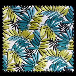 Tissu Toile Cirée Curacao Vert