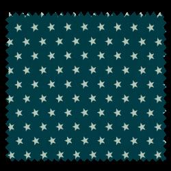 Tissu Imprimé Etoile Canard
