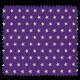 Tissu Imprimé Etoile Violet