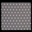 Tissu Imprimé Etoile Perle