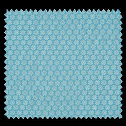 Tissu Imprimé Floralie Ciel