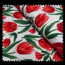 Tissu Tulipe Naturel