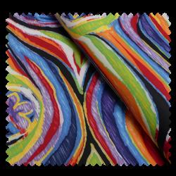 Tissu Tourbillon Multi