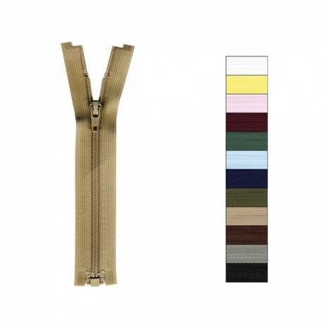 Fermeture Fine Polyester Séparable Non Modifiable 20 à 65cm