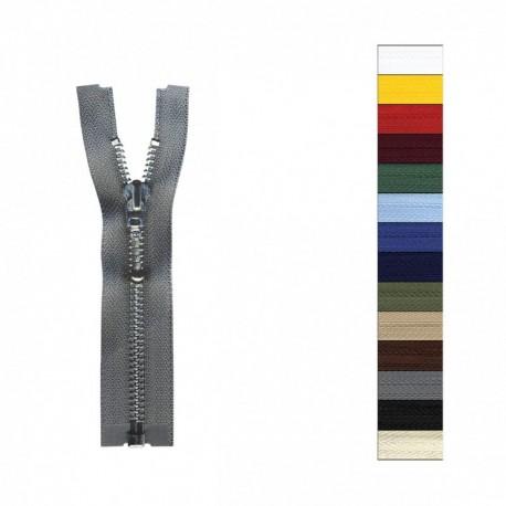 Fermeture Eclair Alu Queue De Renard Séparable Modifiable 25 à 90cm