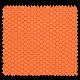 Tissu Imprimé Floralie Orange