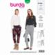 Patron Burda 6358 Pantalon Dame 36/46