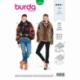 Patron Burda 6359 Veste Pour Dames 36/46