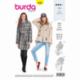 Patron Burda 6360 Veste Pour Dames 36/46