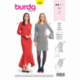Patron Burda 6364 Robe Dame 34/44