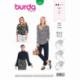 Patron Burda 6367 Blouse 36/44