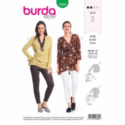 Patron Burda 6369 Blouse Dame 36/44