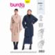 Patron Burda 6378 Manteau Pour Dame 36/46