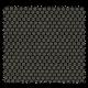 Tissu Imprimé Floralie Noir