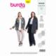 Patron Burda 6393 Veste Pour Dames 46/56