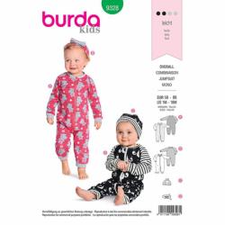 Patron Burda Kids 9328 Ensemble Pour Bebes 56/86