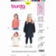 Patron Burda Kids 9331 Robe et T-shirt Pour Enfant 92/122