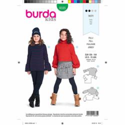 Patron Burda Kids 9335 Pull 128/158