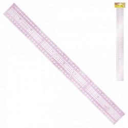 Regle Patchwork Plastique 50 X 5 cm