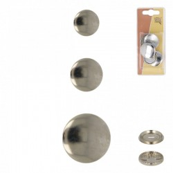 Boutons à Recouvrir Metal - Disponible en 3 tailles